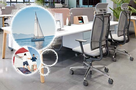 Grammeroffice Sail Glide Tec Netz