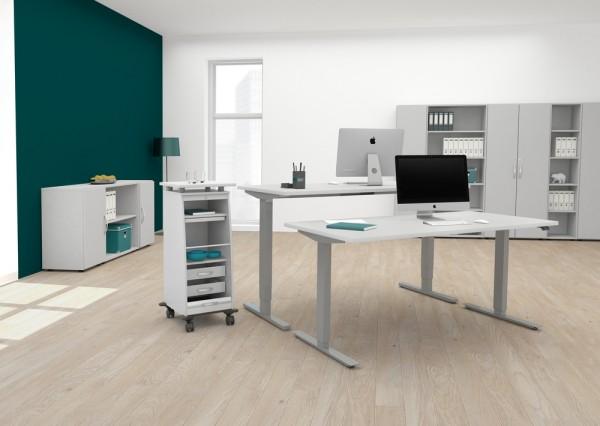 Geramöbel Sitz-Steh-Schreibtisch SOFORTLIEFERUNG