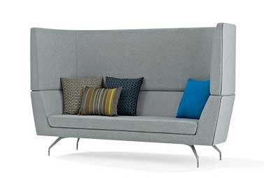 Orangebox Cwtch Privacy High Back Sofa