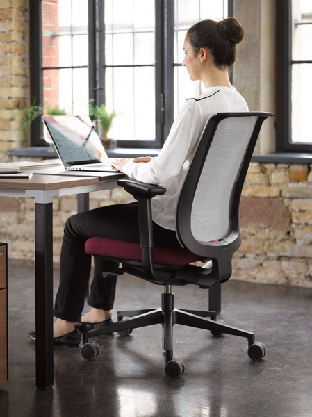 Steelcase Reply Air Dark-schwarz