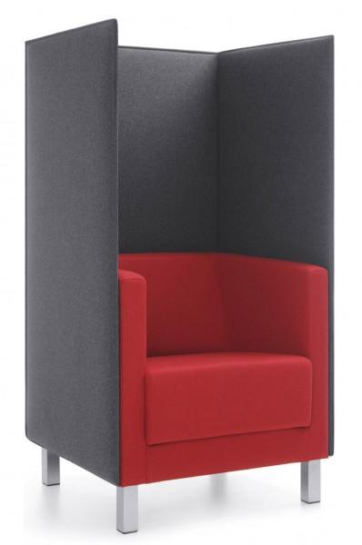 ProfiM Vancouver Lite Sessel inkl. Akustikrückwand
