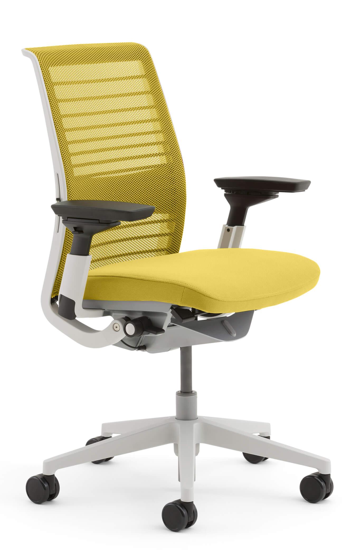Steelcase-Think-Netz-gelb-klein