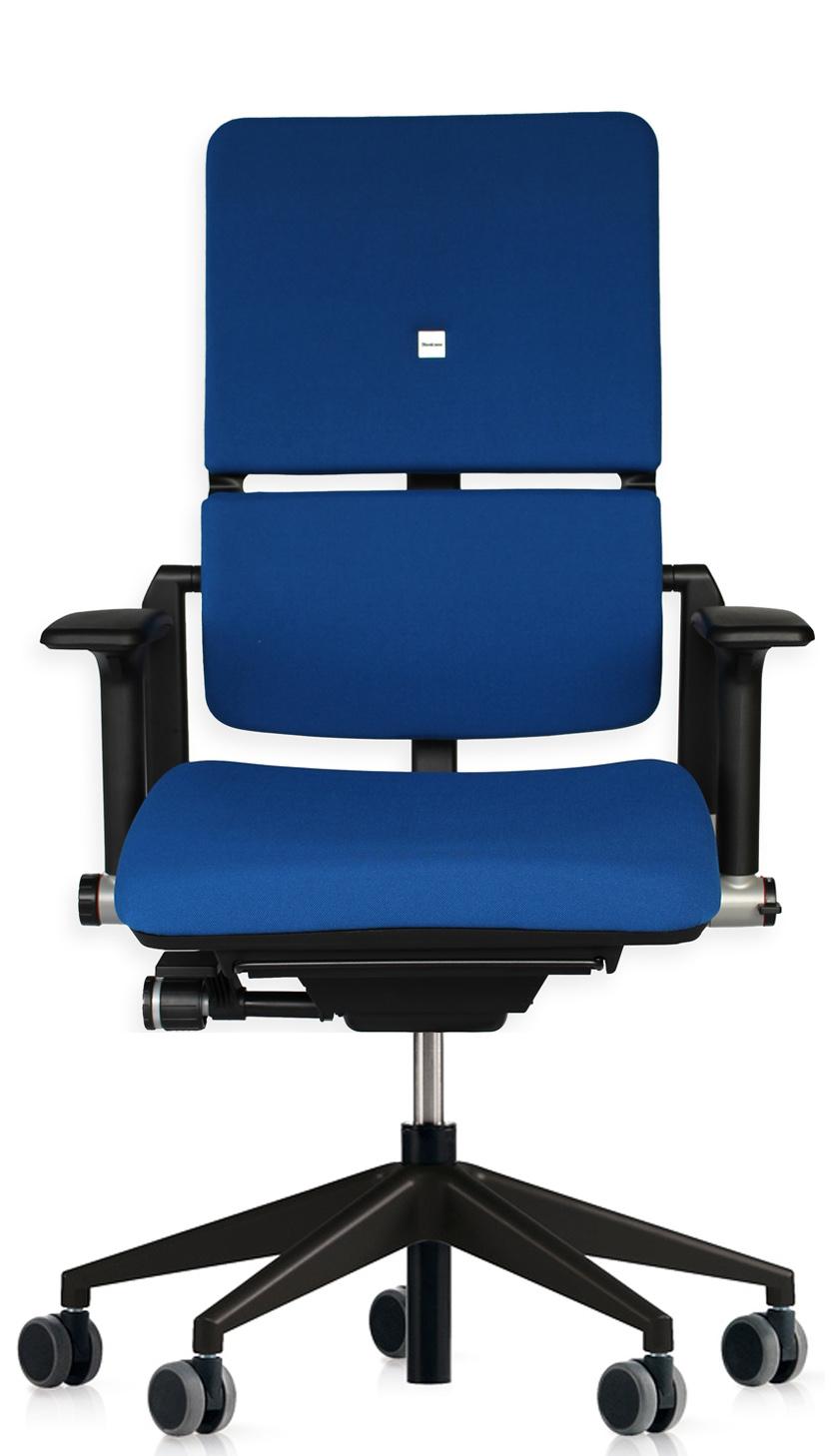 b rostuhl steelcase please blau schwarz von buerostuehle. Black Bedroom Furniture Sets. Home Design Ideas