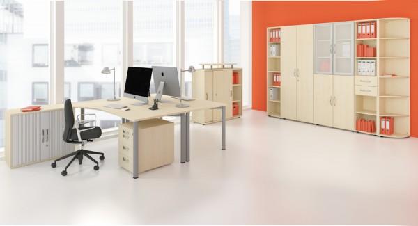 Geramöbel 4 Fuß Flex Schreibtisch