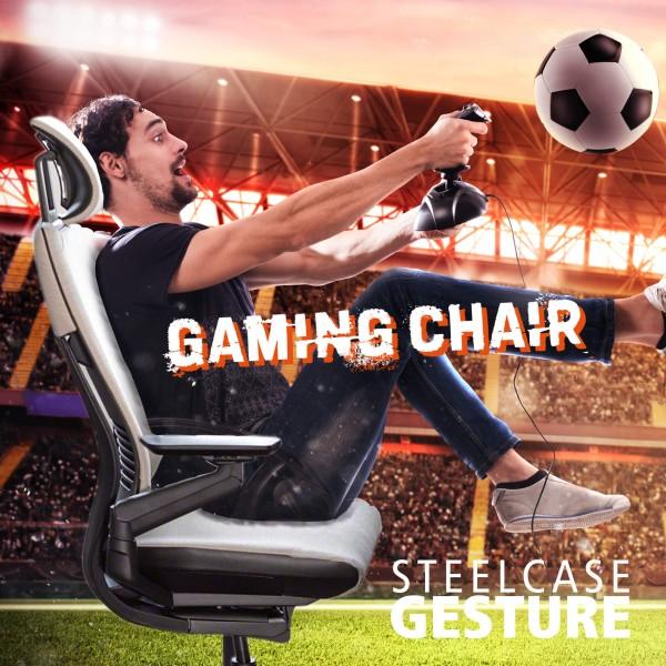 Premium Gaming Chair Gesture by Steelcase