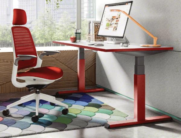 Steelcase Schreibtisch elektrische Höhenverstellung