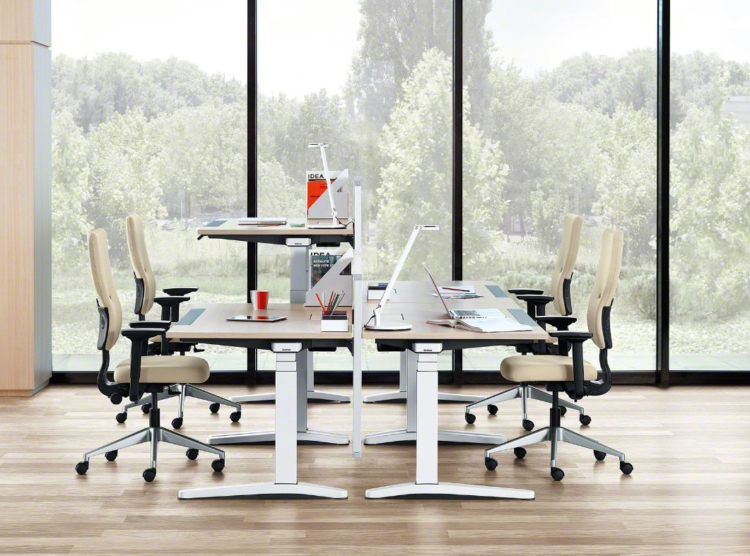 steelcase ology sitz steh schreibtisch online kaufen bei buerostuehle. Black Bedroom Furniture Sets. Home Design Ideas