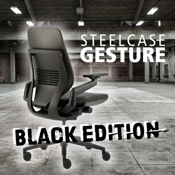 Steelcase Gesture Black Edition