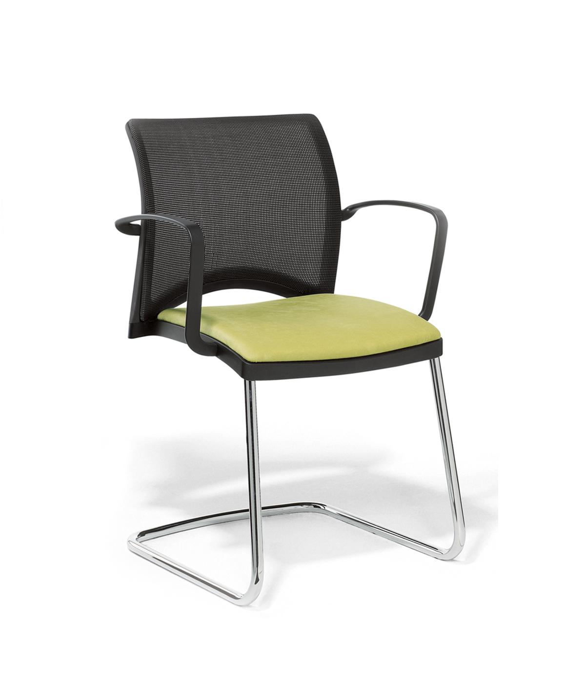 viasit linea freischwinger mit netzr cken online kaufen. Black Bedroom Furniture Sets. Home Design Ideas