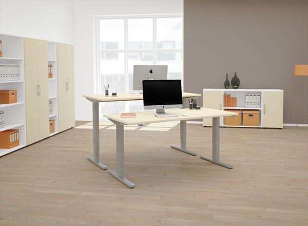 Geramöbel Steh-Sitz-Tisch