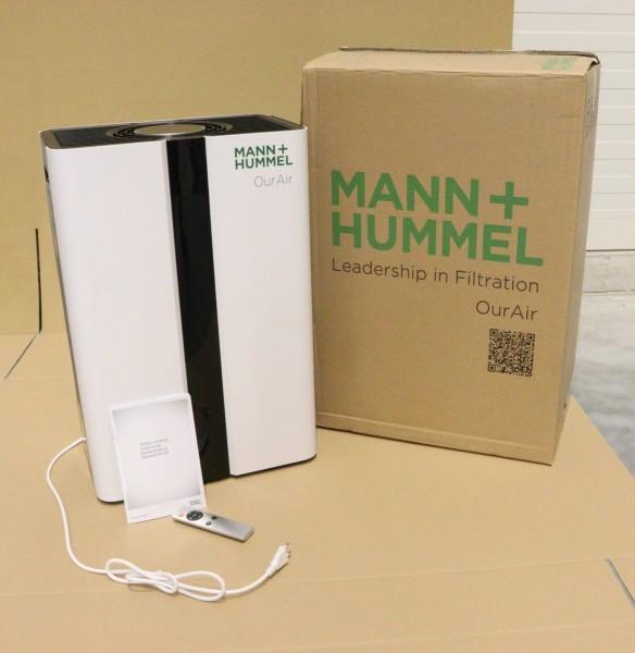 MANN+HUMMEL HEPA H14-Virenfilter OurAir SQ 500 Luftreiniger