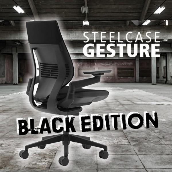 Steelcase Gesture Black Edition