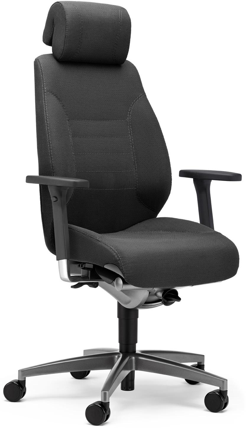 giroflex adapt 24h b rodrehsessel 60 9829 24h extrem robust f r den 3 schicht betrieb in b ro. Black Bedroom Furniture Sets. Home Design Ideas